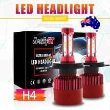 H4 Hi/Lo LED Headlight Bulbs for Ford BA/BF/FG Falcon XR6 Turbo G6E Ute FPV F6