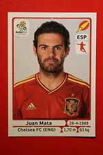 Panini EURO 2012 N. 301 ESPANA MATA NEW With BLACK BACK TOPMINT!!