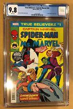 TRUE BELIEVERS: SPIDER-MAN & MS. MARVEL #1 CGC 9.8. (4/19). MARVEL TEAM-UP 62