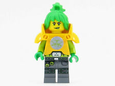 LEGO Female Girl Young Woman Oriental Asian Black Hair Red Lips  Long Eyelashes