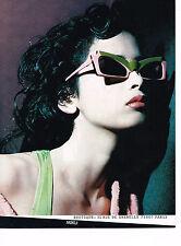 PUBLICITE ADVERTISING 054  1985  MIKLI  collection lunettes