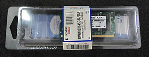 Kingston KVR400X64SC3A256 (256 MB, DDR RAM, 400 MHz, SO DIMM 200-pin)