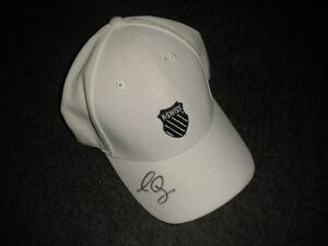 2012 US Open Sam Querrey Match Used Worn K-Swiss Signed Hat!  MeiGray LOA!