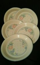 "Corelle Corning SYMPHONY Set of 5 8.5"" Luncheon Plates Excellent"