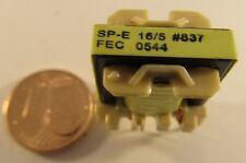 5 Stück SP-E16/5 FEC (Kaschke) E-Kern Induktivität 1,26mH 12VA - AE29/5779  5pcs