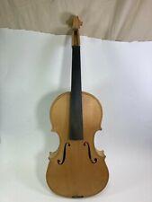 Fine vintage unfinished violin
