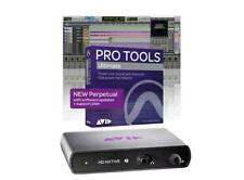 AVID  HD  Native  Thunderbolt & Pro Tools ULTIMATE 2018 PERPETUAL DAW  Bundle