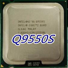 Intel Core 2 Quad Processor Q9550S SLGAE 65W 2.83GHz 12M 1333 Quad Core LGA775