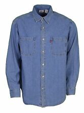 Mens Vintage Levi's Jeans Denim Shirt Size Medium