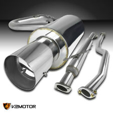 2005-2010 Scion tC Stainless Steel Exhaust Catback System w/ Removable Silencer