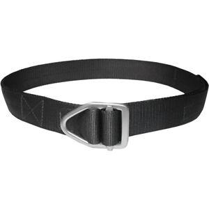 Bison Designs Last Chance Heavy Duty Gunmetal Buckle Belt - Black