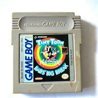 **Tiny Toon Adventures: Babs' Big Break (Nintendo Game Boy, 1992) Looney Tunes**