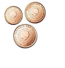 Pièces de 1,2,5cts euros des Pays Bas 2009.