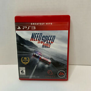 Need for Speed Rivals Playstation 3 PS3 Good Condition Tested manual included