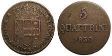 Italien Firenze Leopoldo II, 5 Quattrini 1830