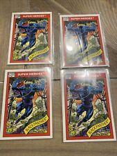 (4) card lot 1990 IMPEL MARVEL UNIVERSE SERIES 1 BLACK PANTHER #20 Mint PSA 10?