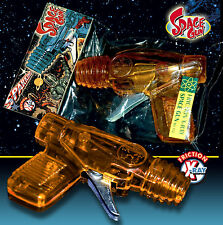 SPACE GUN 70er X Ray Gun Sparking friction powered étincelles SPRÜHER Science Fiction