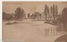 British Empire Exhibition, Indian Pavilion from Lake Postcard, B505
