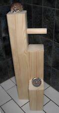 Toiletten-Papier-Halter massiv Holz Badezimmer Design