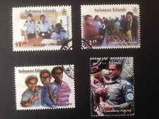 Solomon Islands 2008 Freedom Set SG 1250-1253 Fine Used