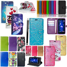 For Huawei Y5 / Y6 2017 - Wallet Luxury Leather Case Flip Book Cover Case