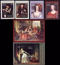 MALDIVES 2003 RUSSIA HERMITAGE PAINTINGS set + 2 S/s MNH dude?)