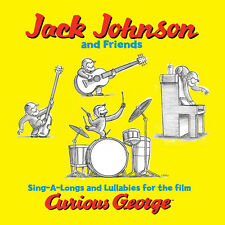Jack Johnson CURIOUS GEORGE SING-A-LONGS & LULLABIES New Sealed Vinyl LP