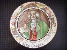 Royal Doulton Professionals Series Ware Collector Plate D6284 The Squire