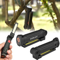 XANES 360° Rotation USB Rechargeable COB+LED Emergency Worklight Magnetic Torch
