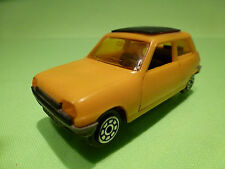 NOREV  PLASTIK RENAULT 5 1972 - YELLOW 1:43 - VERY GOOD CONDITION