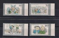 GERMANY 1990 Set for the Kids Stamps Mi. # 1455-1458 mint/ MNH