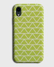 Pale Green Geometric Pattern Phone Case Cover Shapes Triangles Triangle G454