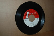 CHICK CARBO: IN THE NIGHT & RUN HENRY; 1963 INSTANT 3245  VG++ 45 RPM