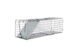 Medium 24x7x7 One Door Catch Release Heavy Duty Cage Live Animal Traps