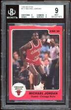 Michael Jordan Card 1985-86 Star #117 BGS 9 (9 9 9.5 9)