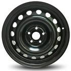 16 Inch Steel Wheel Rim 18-19 Chevy Trax 5 Lug 105mm 16 Spokes Black 16x6.5