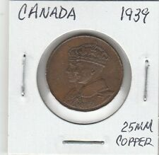 LAM(A) Token - Canada - 1939 - 25 MM Copper