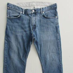 French Connection Jeans Men's Size W36 L30 Light Blue Straight Fit Denim