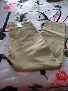 DENIZEN from Levi's 231 Athletic Tapered Jeans, Beige, Men's 36 x 30, NWT
