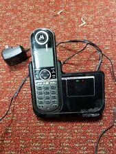 MOTOROLA P1002 DECT 6.0 DIGITAL CORDLESS PHONE USED