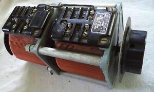 Variac- Powerstat Q-117U-2 Dual Transformer in Tandem 60Hz 1Ph, 120VAC x 0-120V