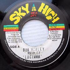 BOB MARLEY Sky High 45 MEDLEY LUCIANA vg++ 1994 Jamaica pressing   BR1