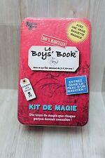 Le Boys' Book - kit de magie - University Games - complet très bon état