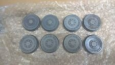 Gauge 3 Carriage Wheels  Cast Iron