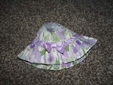 NWOT NEW JANIE AND JACK 2T 3T FLORAL HAT ADORABLE GARDEN