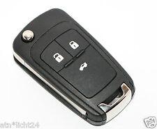Drei Tasten Chevrolet Schlüssel Fernbedienung Gehäuse mit Tasten und Rohling KEY
