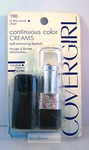 CoverGirl Continuous Color Lipstick Lip Colors - A Variety of Shades