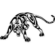 PANTHER Tribal Vinyl Decal -Sticker for Car Truck SUV Bumper Wall Laptop Home