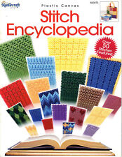 """""""STITCH  ENCYCLOPEDIA""""~ +2 Projects""""~Plastic Canvas PATTERN BOOK~SEE PICS~NEW"""