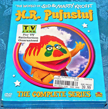 H.R. Pufnstuf Boxed Set DVD, 2003 BOX SET SEALED NEW COMPLETE SERIES SID MARTY